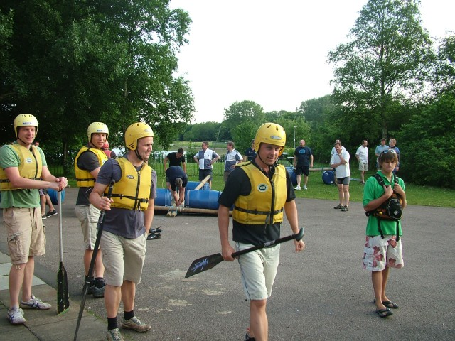 Raft Building Royston Amp District Round Table